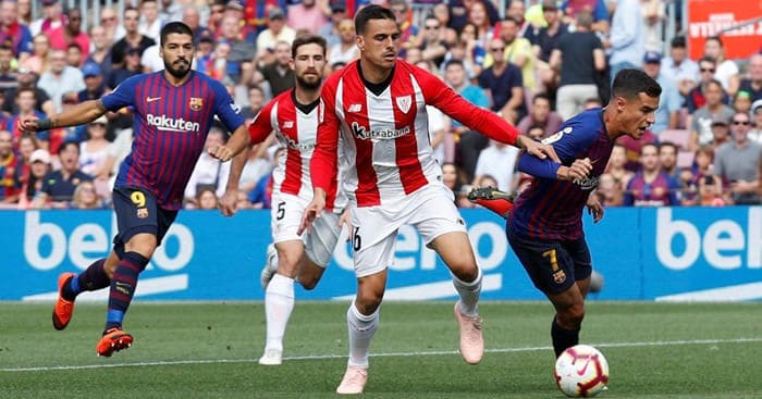 pronosticos futbol español Athletic Bilbao vs Barcelona