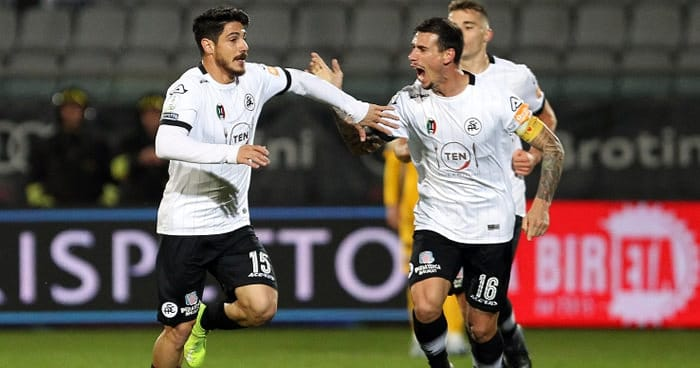 27 de julio. Pronostico Spezia vs Virtus Entella - Serie B de Italia