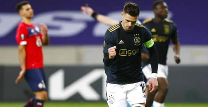 25 de febrero. Pronóstico Ajax vs Lille - UEFA Europa League